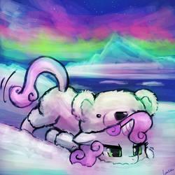 (30minutechallenge) polarbelle by luminaura