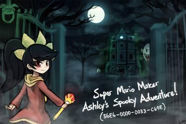 (Super Mario Maker) Ashley's Spooky Adventure! by luminaura