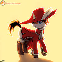 (Commission) Red Mage Sharp Note by luminaura