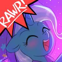RAWRvatar - Trixie by luminaura