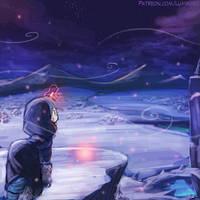 Speed Paint - Through the Winter by luminaura