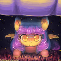 Speed Paint - Hiding Under the Bed by luminaura