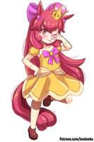 Princess Applepeach Bloom by luminaura
