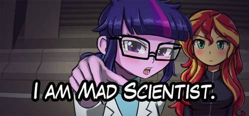 I am Mad Scientist. by luminaura