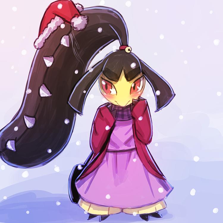 Winter Mawile by luminaura