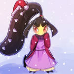 Winter Mawile by luminaura