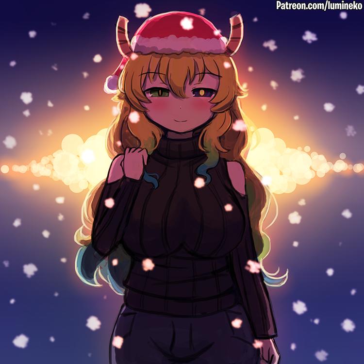 Dragon Winter by luminaura