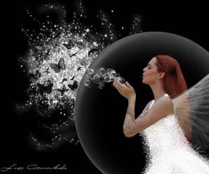 Bubbles as Butterflies by Beautifuul