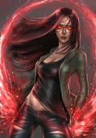 Scarlet Witch Civil War by milk00001