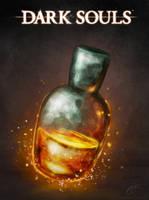 Estus, Liquid flames by TheOmegaRidley