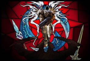 Weapon Thieves - Diablo vs Tyrael by Toma-prod