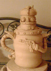 another robot cookie jar by thebigduluth