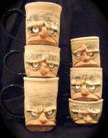 grouping of mugs by thebigduluth