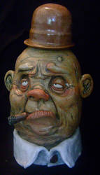 The Cigar Man Jug by thebigduluth