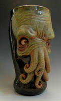 Cthulhu Beer Mug 2013- SOLD by thebigduluth