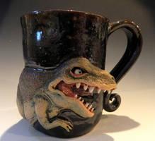 Tea-Rex Mug by thebigduluth
