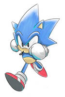 Classic Sonic by SharicTH