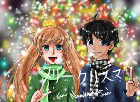 NGB- Christmas Promo by Namakemono-chan