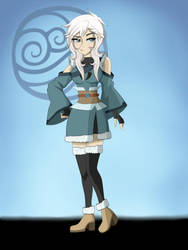 Seisha | Avatar TLOK OC by Nakami-Sama