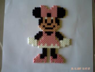 Minnie By Perles Hama On Deviantart
