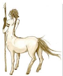 Centaur dude on watch by Nooruska
