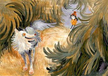 The Wolf by Nooruska