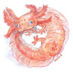 Axolotl by Nooruska