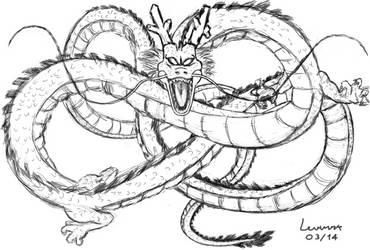 Shenlong (digital drawing) by LevinskTM