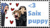 heart Saix puppy stamp by Neji-x-Hyuuga