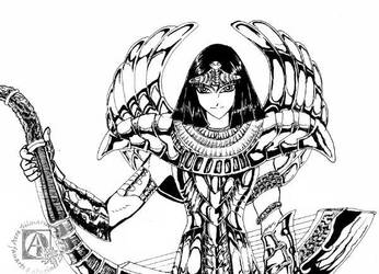 Saint Seiya-Sphinx Pharao by AereKidd