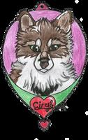 Ciryl badge by BlueSpiritWolf6