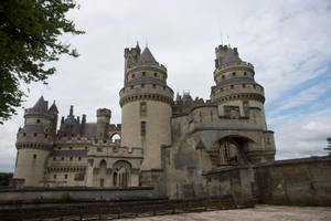 Chateau de Pierrefonds 01Stock by lokinststock