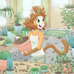 clover garden by sugar-n-spark