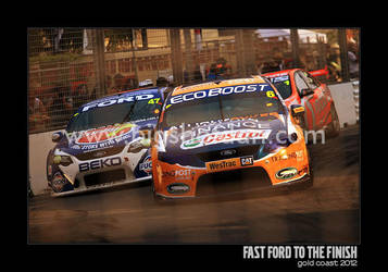 Fast Ford to the Finish by bigshotdan