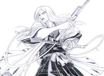 Ukitake Juushiro Sketch by Washu-M