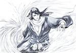 BLEACH - BYAKUYA BANKAI by Washu-M