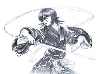 BLEACH - Kuchiki RUKIA - Dance by Washu-M