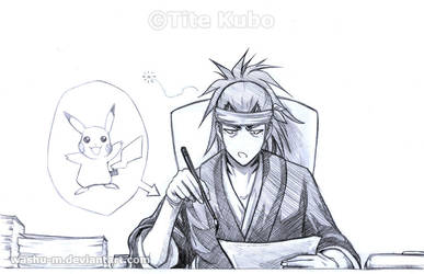BLEACH - RENJI WTF Art skills by Washu-M