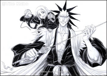 BLEACH - KEN CHAN 4 LADYLUCK by Washu-M