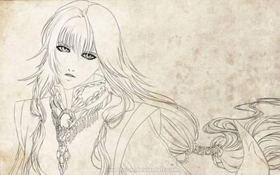 GABRIEL - Wallpaper by Washu-M