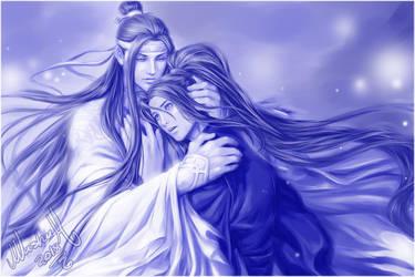 Wangji x Wuxian by Washu-M