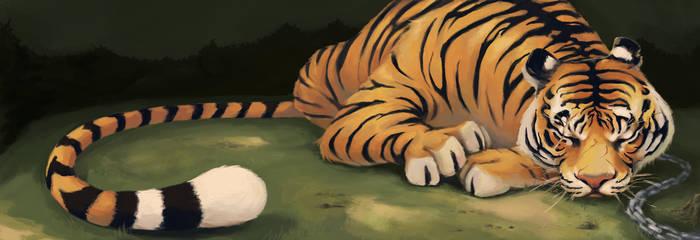 Sleeping Beasts by JynetteTigner