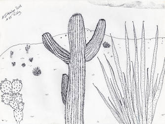 #Inktober 2018 - Prickly #25 by Majeeka
