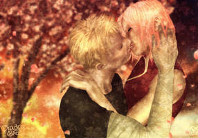 NaruSaku - At last the Cherry Blossoms Never die by Dradra-Trici
