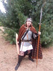 Arthurian warrior by artoriousrex