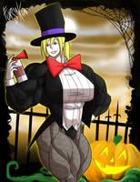 Gym Goers Halloween: The Clowngician by Forsa-kun