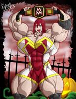 Gym Goers Halloween: Ms. Moira by Forsa-kun