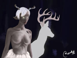 The Magicians Fanart Contest : THE WHITE LADY by PranavMHari