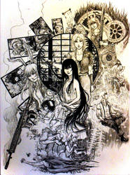 Touhou - Imperishable Night by happibitch
