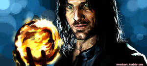 Aragorn with Palantir by evankart